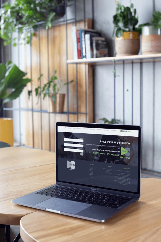 בניית אתר אינטרנט צ'ר פור יו